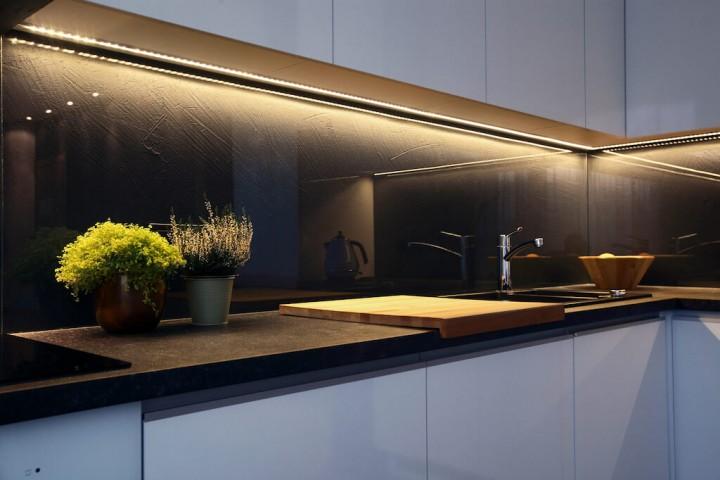 Dekoratives Licht in Ihrer Küche
